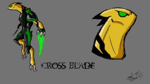Cross Blade IH Custom Design by IHComicsHQ