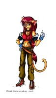 Lina Catlow Thief by Raygirl13