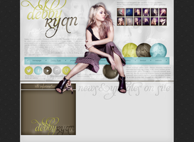 Layout ft. Debby Ryan by Andie-Mikaelson