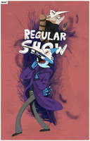 Regular Show poster by yinlin1994