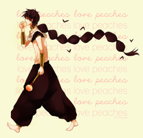 love peaches by kyunyo