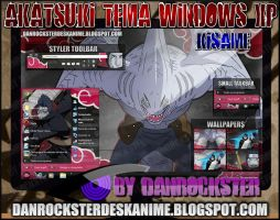 Kisame Theme Windows XP by Danrockster