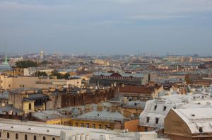 Cityscape Roofs by ManicHysteriaStock
