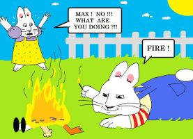 Max and Ruby , Fire by AVRICCI