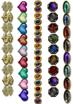 Jewelled Borders .png by BrianFP