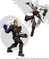Assassins and Spacemen by Lord-Of-The-Guns