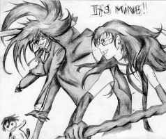 Anne and Grell by DiabolicLily