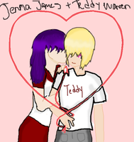 Jenna and Teddy Couple Project 2012 by Born-Alive