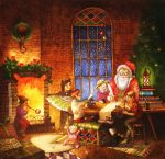 christmas greeting card by Xenys