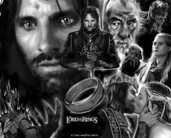 The Lord of The Rings by Samfanof