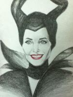 Maleficent Sketch by lerod2