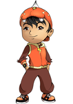 BoboiBoy [coloring] by athime