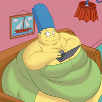 Ask large marge by TubbyToon