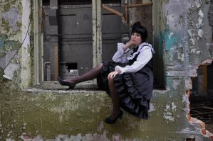 New Gothic Lolita 16 by Kechake-stock