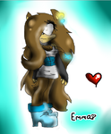 Emma the Hedgehog :3 *le gift* by CrystalTheHedgWolf
