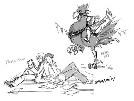 9.20 Roughs by animama