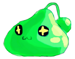 Maplestory: Slime by Roxyielle
