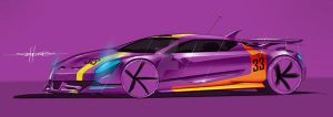 Purple racer by magao