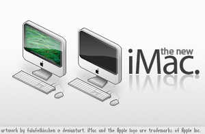 the new pixel iMac by falafelkiosken