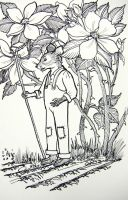 Harvest Mouse Planting by HouseofChabrier