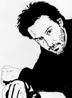 Keanu Reeves by ladyjart