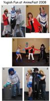 Yugioh fun at AnimeFest 2008 by Malindachan
