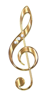 Treble Clef by Lyotta