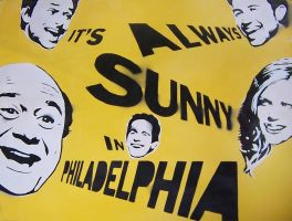 Sunny in Paddys - Stencil by theraineydaze