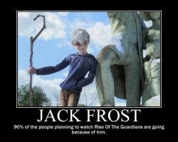 Jack Frost - Rise Of The Guardians Motivational by KuraiBreak