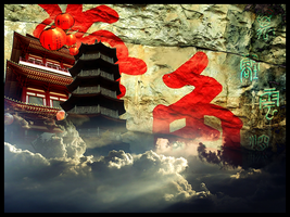 Chinese Temples by Pavan959