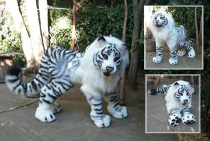 Maned Tiger Quadsuit 2 by LilleahWest