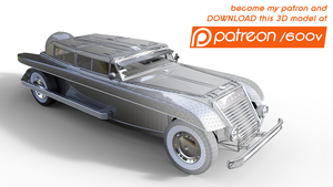 Pingusson Unibloc 1930 - 3D model by 600v
