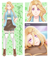 [Mystic Messenger] Fem!Yoosung by Chesle