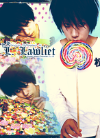 L.Lawliet cellphone wallpaper by suga-R-ush