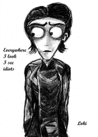 Loki Tim Burton Style by Eleanor-Anne6