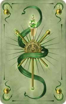 card the ace of clubs_scepter by inSOLense
