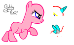 .:RUN, FILLY, RUN!:. Filly BASE by GabbyPaint-PonyBases