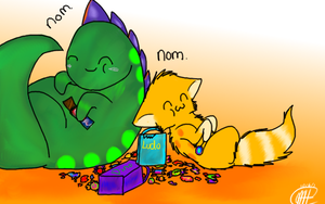 Gotta love Halloween candy? (Contest Entry) by Sweetnminty