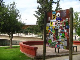Combo Sticker in Park by Lorfis-Aniu