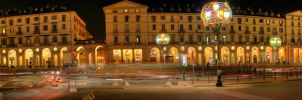Piazza Vittorio by night by TOUCH41
