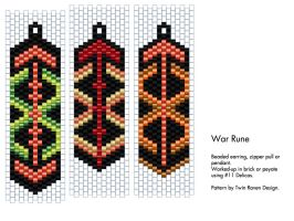 War Rune [pattern] by MaeveIverson
