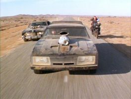 Mad Max The Road Warrior Car Chase 1 by MALTIAN
