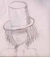 Top Hat Guy by Wafflite