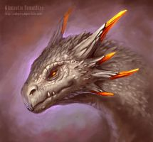 Dragon by Sedeptra