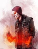 Delsin Rowe by R-e-i-n
