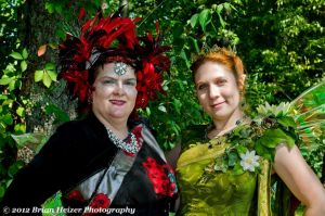 Queen Mab and Queen Titania by BelovedUnderwing