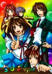 The Melancholy of poor Kyon XD by Aiko-Mustang