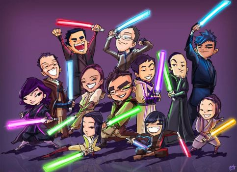 Jedi Master Apprentices II by Zeng