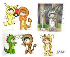 onesie power by Muketti