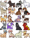 Iron Artist 2014: Batch 1 by whitepup